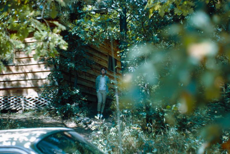 1965-09 - Black Hills - Jo at Echo Valley cabin