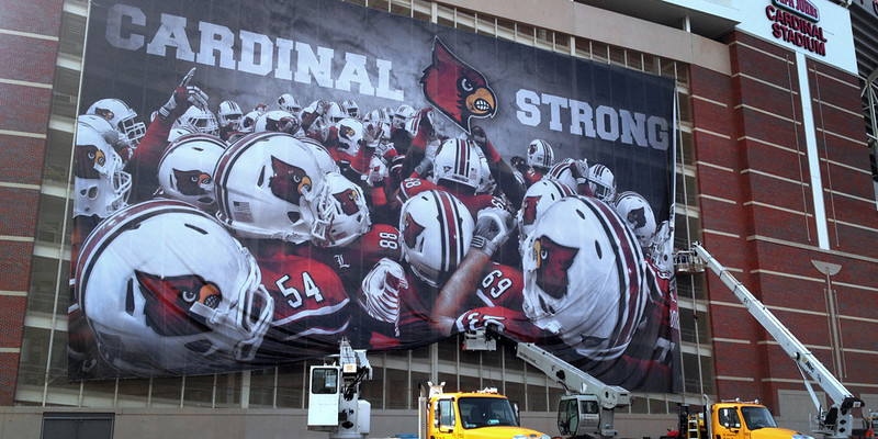 2012 Louisville Football Stadium graphic