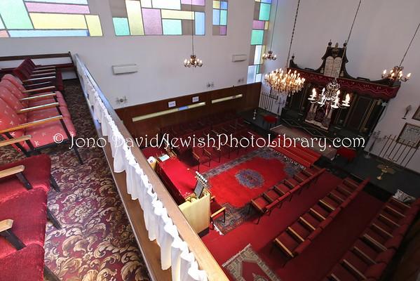 MOROCCO, Agadir. Agadir Synagogue (2.2015)