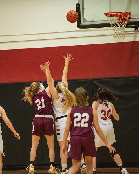 2021 JV and Varsity Girls Basketball vs Monmouth