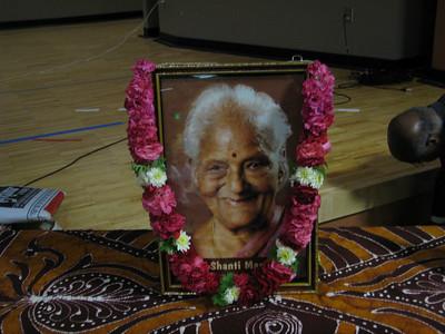 Shanthi Mangalic Memorial Service