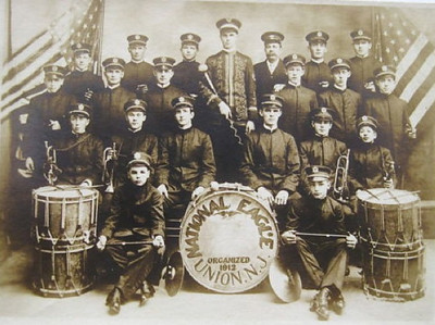 NATIONAL EAGLE BAND, UNION NJ, Organized 1912.jpg