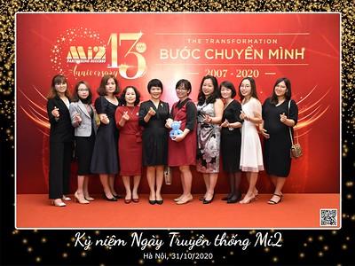 Mi2 | 13th Anniversary instant print photo booth in Hanoi | Chụp hình in ảnh lấy li�n Sự kiện Ngày truy�n thống tại Hà Nội | Hanoi Photobooth