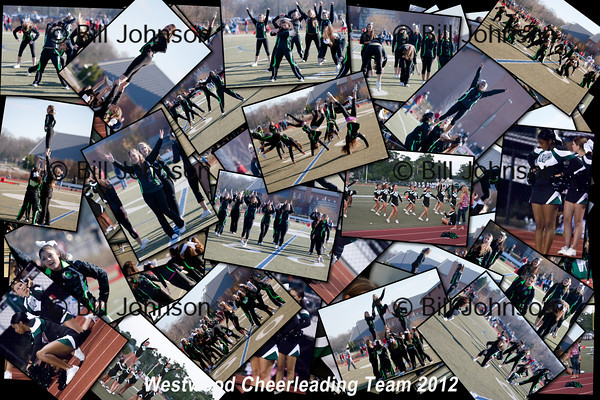Football and Cheerleading Collages 2012