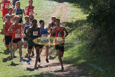 Mens College 5K Start - 2012 Running Fit–Detroit Titan XC Invite