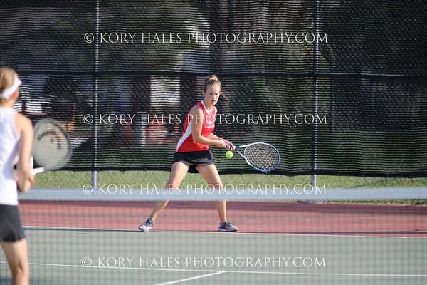 2017 Tennis Season--High School Girls