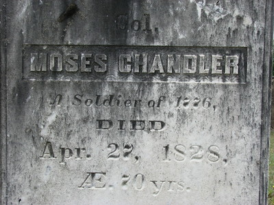 Moses Chandler Home and Grave