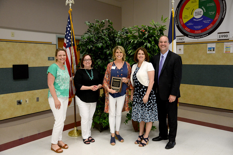 "Lindie English, Mason Elementary School Dyslexia teacher, 26 years in education and 16 years in LISD  Memorable moment: ""I've spent the last 16 years of my teaching career in Leander ISD. I've had the privilege of serving as a general education teacher, a special education teacher, and a dyslexia specialist. I am grateful for each of these opportunities, as I've met many wonderful people, gained some of my very best friends, and worked with so many amazing children! I will always have very fond memories of my time in LISD."""