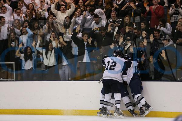Men's Ice Hockey 11/2 vs. Cortland (OT Win)