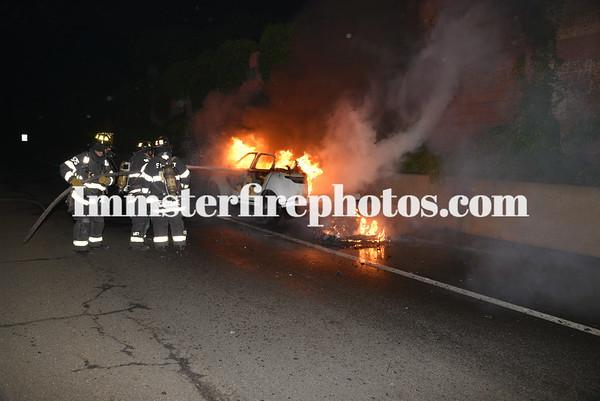 SYOSSET FD CAR FIRE ANGEL WAY