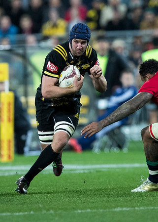 Mark Abbott during game 8 of the British and Irish Lions 2017 Tour of New Zealand,The match between  Hurricanes and British and Irish Lions, Westpac Stadium, Wellington, Tuesday 27th June 2017 (Photo by Kevin Booth Steve Haag Sports)  Images for social media must have consent from Steve Haag