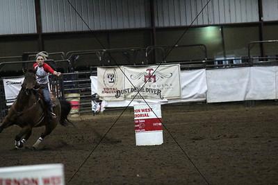 Vernon West Barrel Race 2014