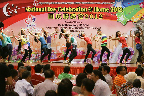 National Day Celebration @ Home 2012