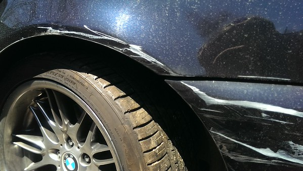 2002 BMW M5 - Accident and as-is sale