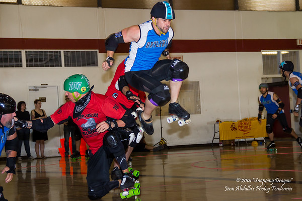 AZMD Sausagefest Denton Outlaws v Deep Valley Belligerents 8-14