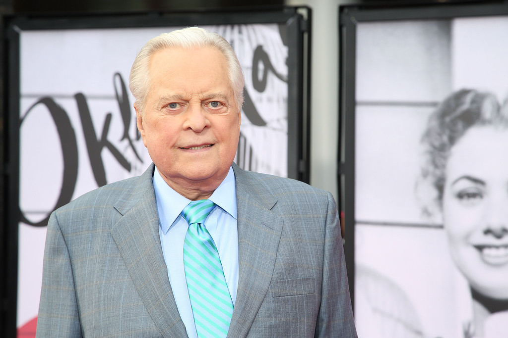 . Robert Osborne arrives at 2014 TCM Classic Film Festival\'s Opening Night Gala at the TCL Chinese Theatre on Thursday, April 10, 2014 in Los Angeles. He died March 6 at age 84. (Photo by Annie I. Bang /Invision/AP)