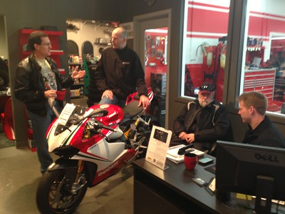 DNW at DucatiBellevue