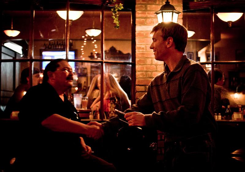 Mr Doc B & Brandon Maddox, Dan McGuinness in Cool Springs (Nashville), November 25th, 2008