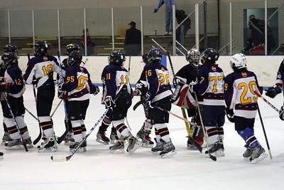Bantam 3, 2008/11/23 Aviators Vs. Artic Foxes at Airport Ice Arena