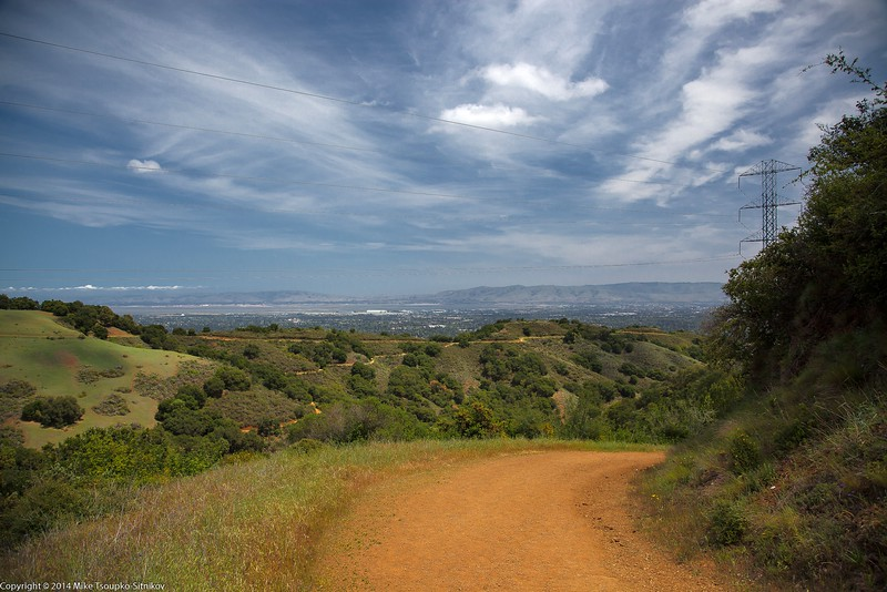 Rancho San Antonio. PG&E Trail
