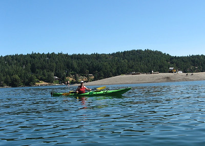 Kayaking South Pender/Saturna Island July 2015