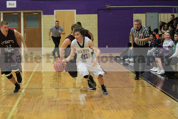 Basketball vs Stuarts Draft