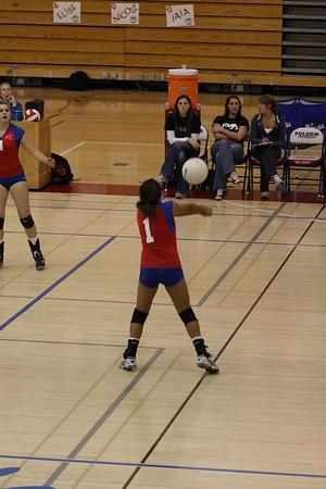 2009 FHS Varsity VB vs Pleasant Grove 10-12-09