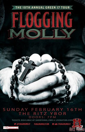 Flogging Molly February 16, 2014