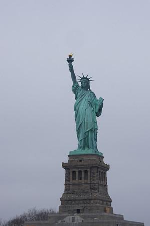 Liberty Island NYC 2012