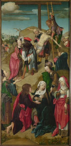 The Deposition: Right Hand Panel