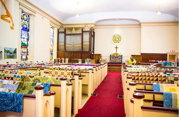 New Castle 2nd Congregational Church Quilt Show