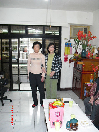 Ma Khin Tint home coming visit 2011