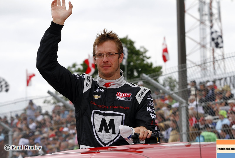 June 2: Sebastien Bourdais during the Chevrolet Detroit Belle Isle Grand Prix.