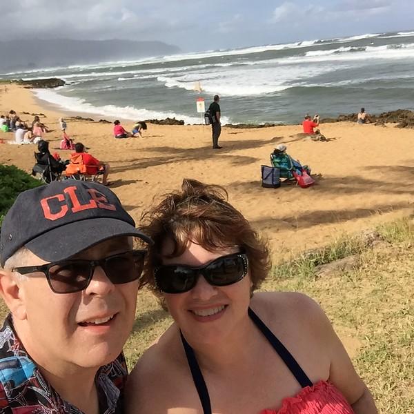 John and I at Alii Beach Park