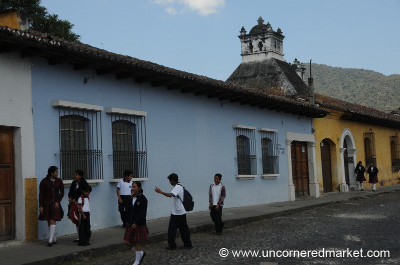 School Children - Antigua, Guatemala
