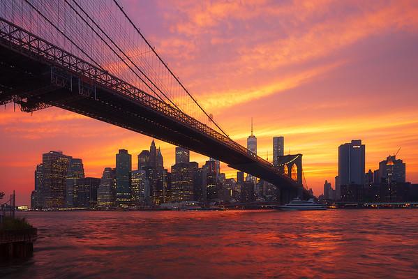 New-York sunset