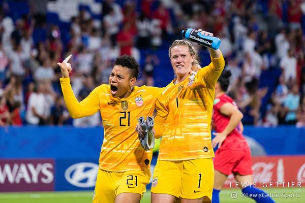 England vs USWNT 7-2-2019