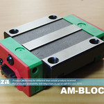 SKU: AM-BLOCK/15, 15mm Linear Guide Rail Runner Block HGW15CC for Light Load Industrial CNC Machine