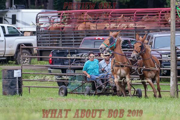 Wagon Barrel Racing