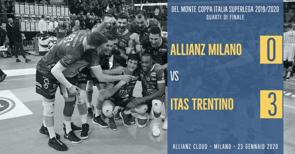 4i Coppa Italia: Allianz Milano - Itas Trentino