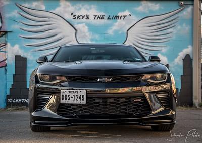 Graffiti wall shoot (unitedmusclecarfamily)