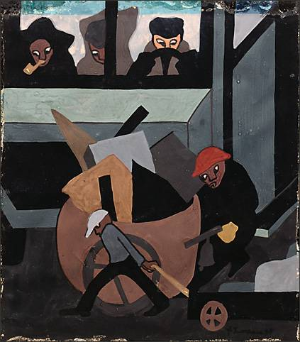 Jacob Lawrence, Junk (1937)
