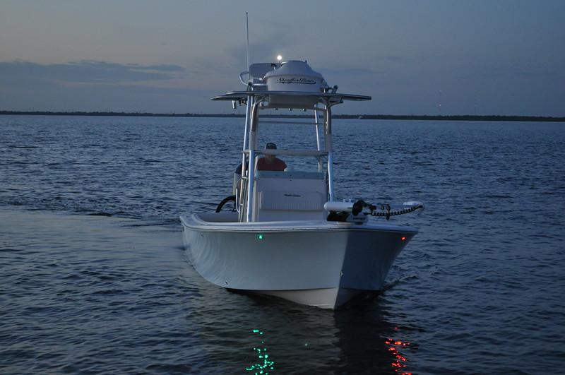 S247011-Nav Light SS Shark Eye LED