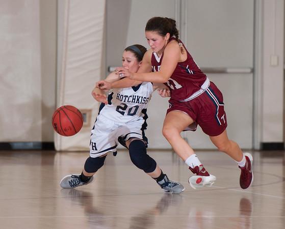 2/25/17: Girls' Varsity Basketball v Hotchkiss
