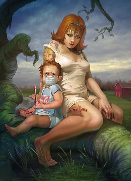 """""""Mommy's Little Monster"""""""