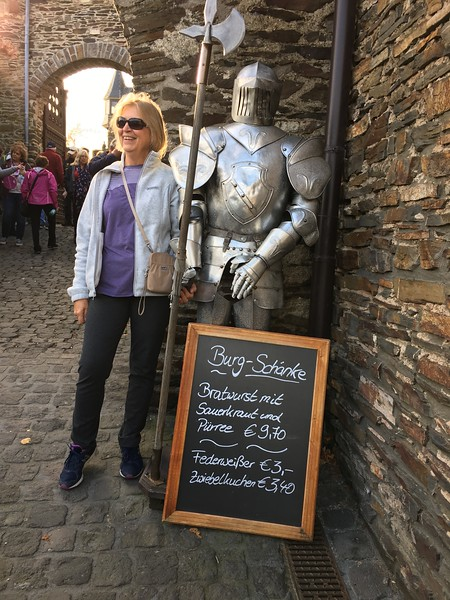 Mary Parish finds her knight in shining armor