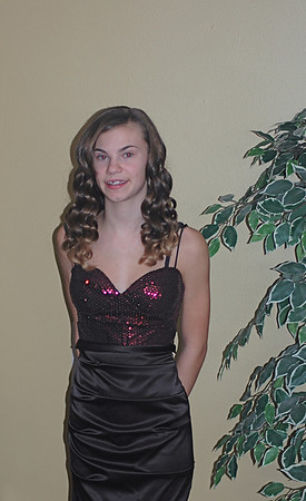 Jaclyn's 8 th grade dance