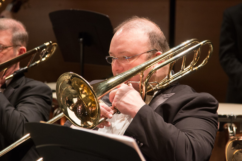 Derek Crosier -- Symphony of the Potomac at the Cultural Arts Center, Silver Spring, MD, February 2018.