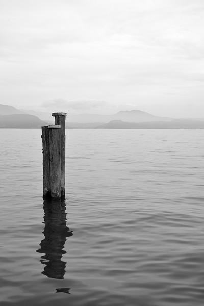 Lake Garda - Manerba del Garda, Brescia, Italy - June 29, 2013