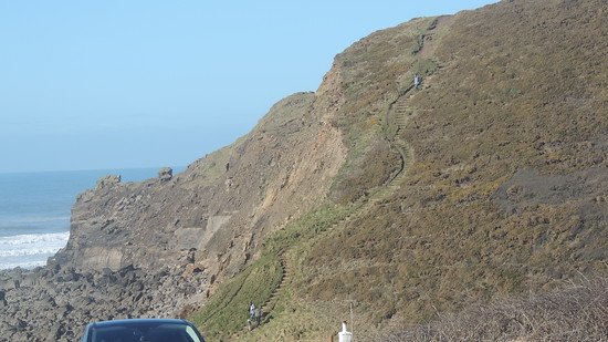 Path up to Menachurch Point.